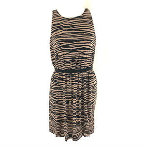Ann Taylor Loft Mini Dress Striped Sleeveless S